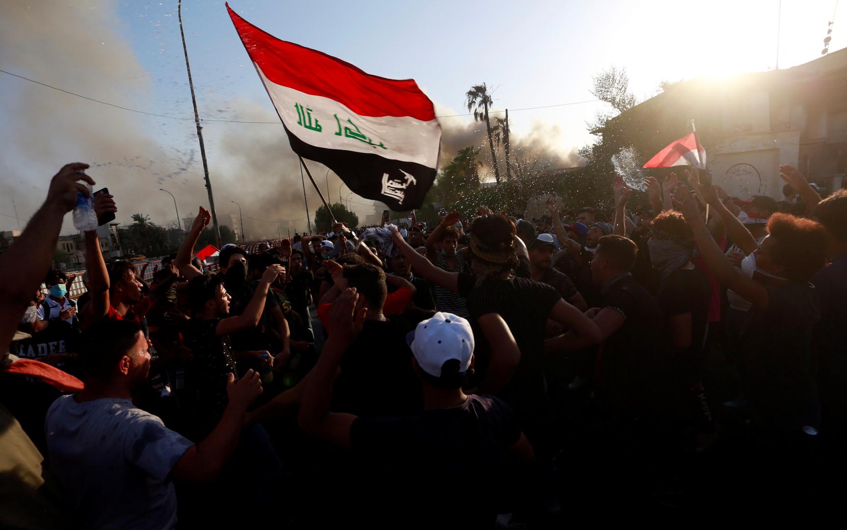 attack on Iranian consulate in Basra