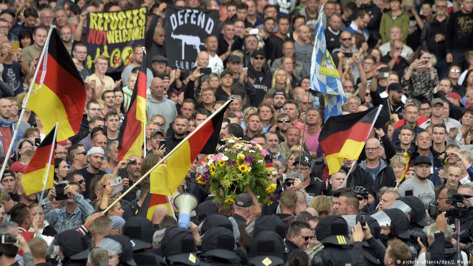 German police dispatch 1,000 officers ahead of right-wing protests