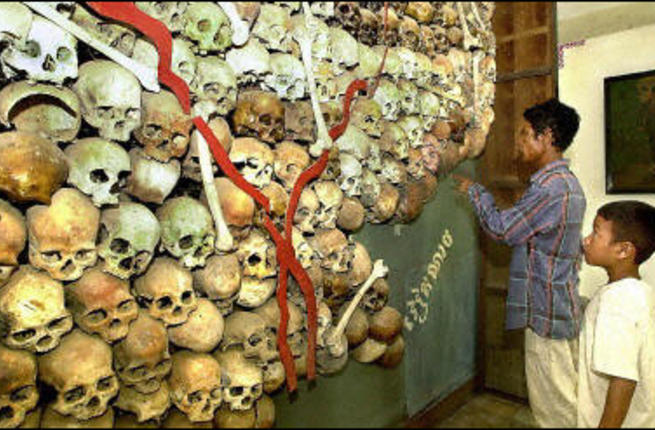 Court convicts first Khmer Rouge leaders for genocide in Cambodia