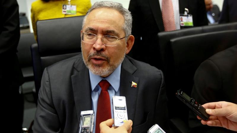 Former Venezuelan oil minister with 'chronic illness' dies in custody
