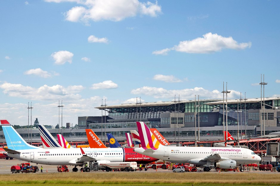 More than 50 flights cancelled as staff strike at Hamburg Airport