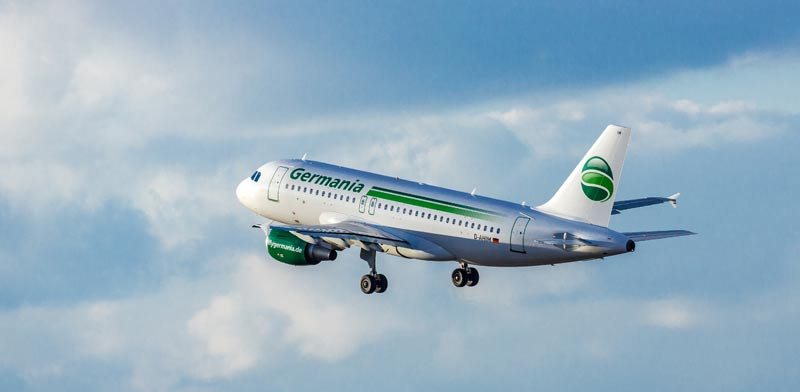 Airline Germania files for bankruptcy blaming 'unforeseeable events'