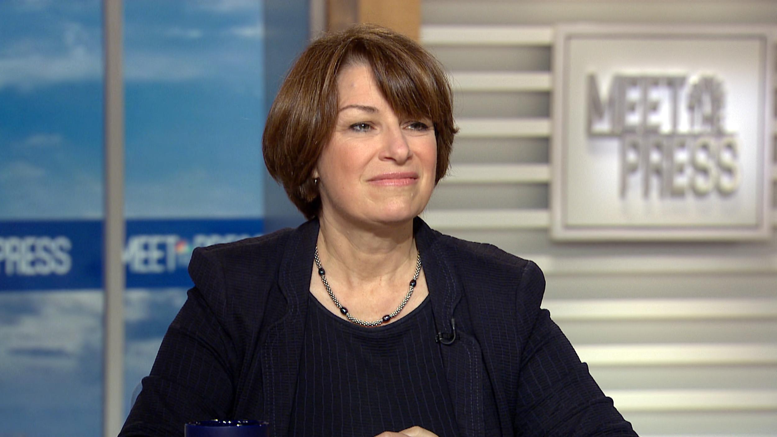 Senator Amy Klobuchar enters 2020 presidential race