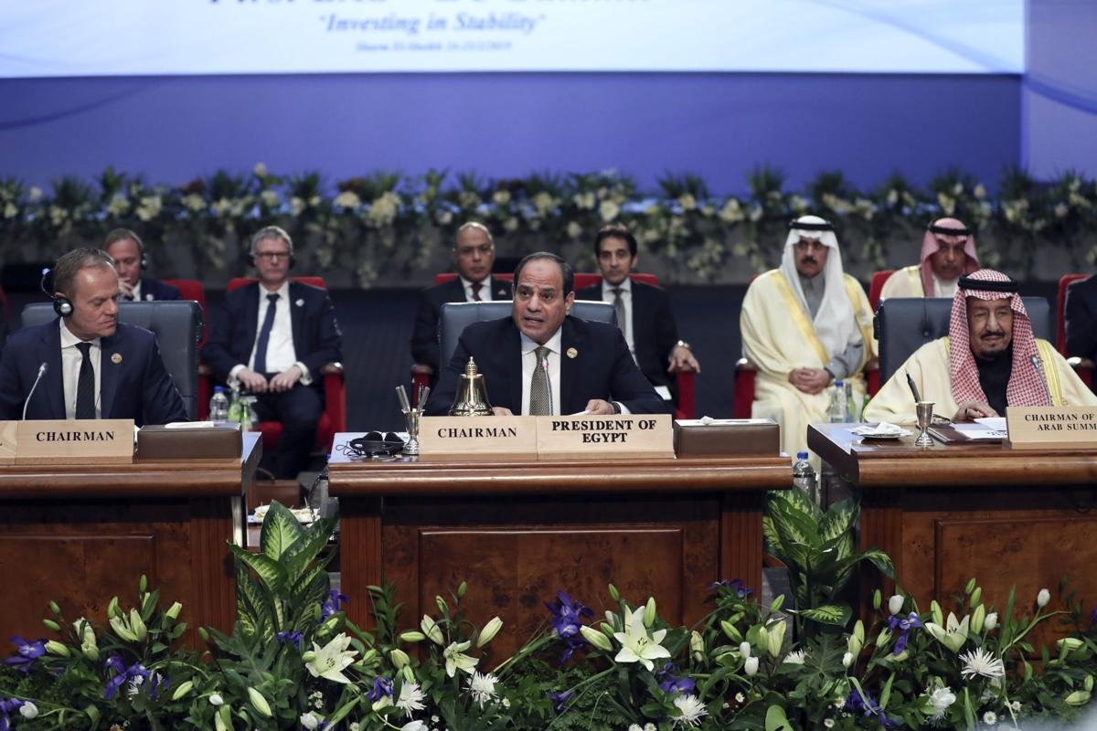 EU-Arab leaders tackle regional unrest at Egypt summit