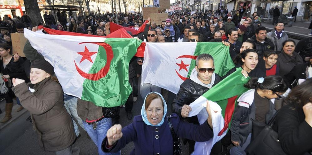 Algerians hold fresh protests against president amid heavy security