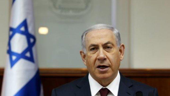 Netanyahu cuts short Washington visit after Gaza rocket hits house