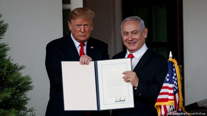 Gulf states condemn Trump's recognition of Israeli claim on Golan