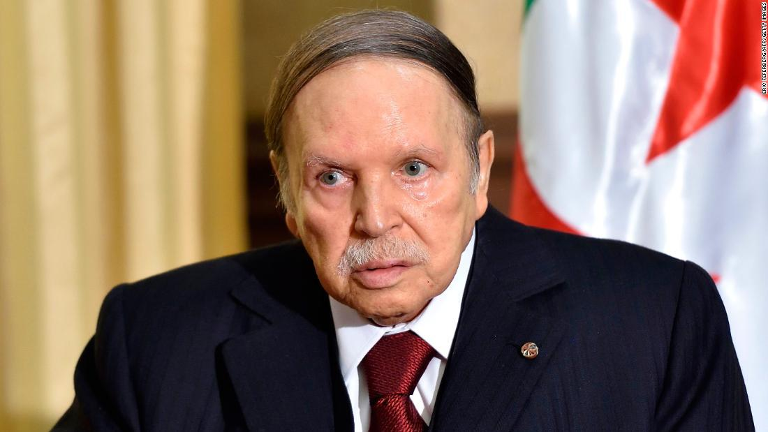 Algeria's embattled president resigns after 20-year rule