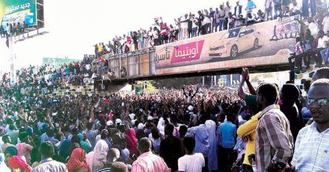 Two protesters killed on day four of Sudan anti-government sit-in