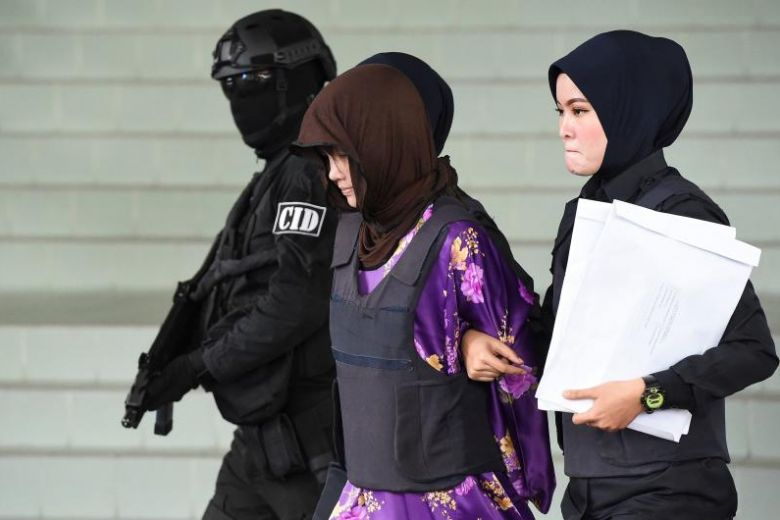 Last remaining suspect in Kim Jong Nam murder released from prison