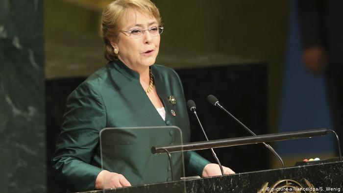Michelle Bachelet  .