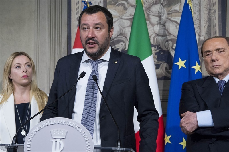 Salvini ally quits government after conviction for embezzlement