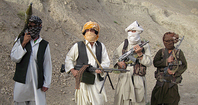 Three Pakistani army officers and soldier killed near Afghan border