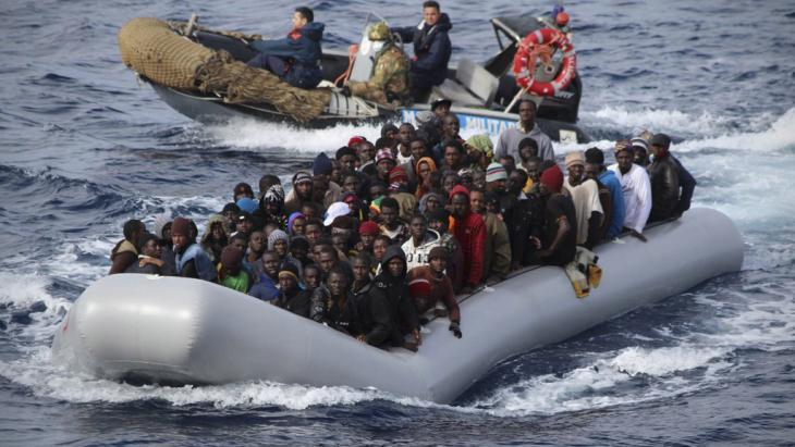 Report: 22 migrants feared dead in Mediterranean Sea crossing