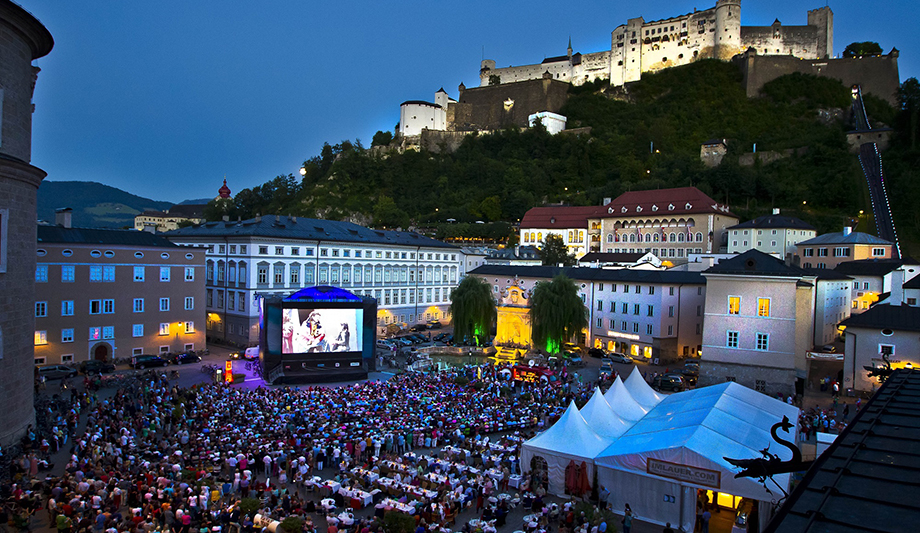 Salzburg Festival opens up to wider public with free concerts