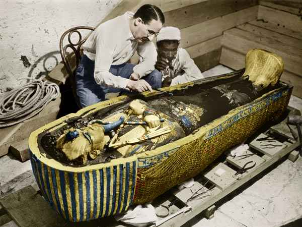 Egypt starts first-ever restoration of King Tut's coffin