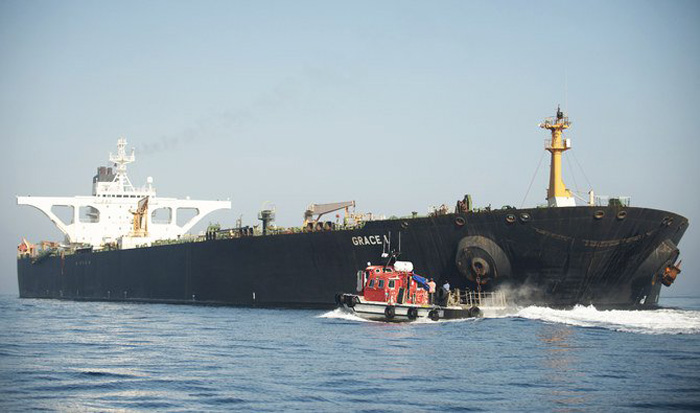 Iranian tanker heads for Greece as Tehran welcomes end of 'ordeal'