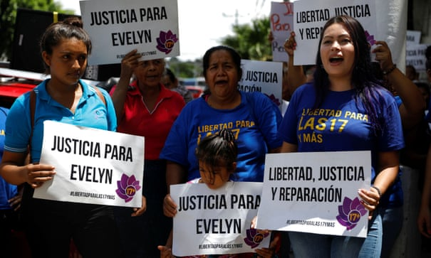 Salvadorean woman facing prison for stillbirth acquitted of murder