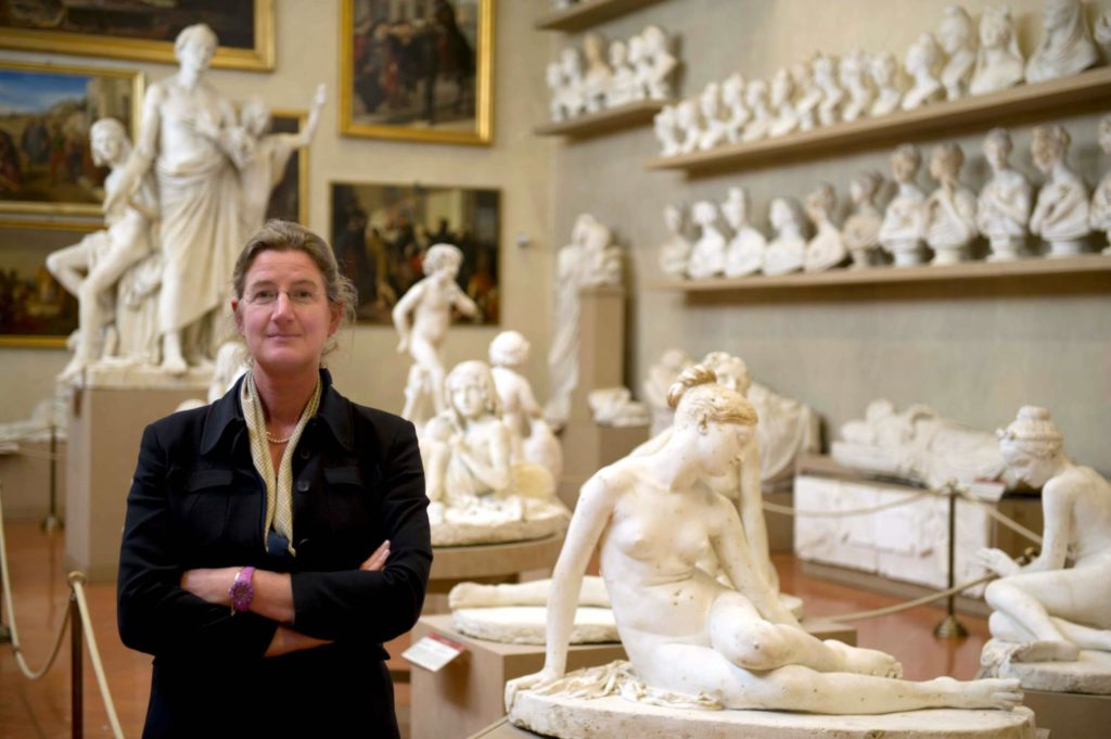 German director fired from Italian museum with Michelangelo's David