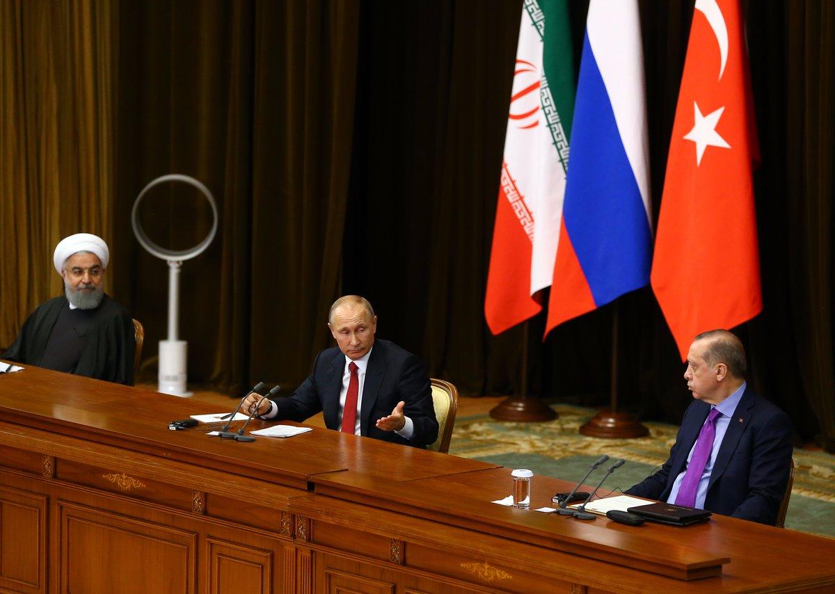 Spotlight on Idlib as Turkey hosts Russia, Iran for Syria summit