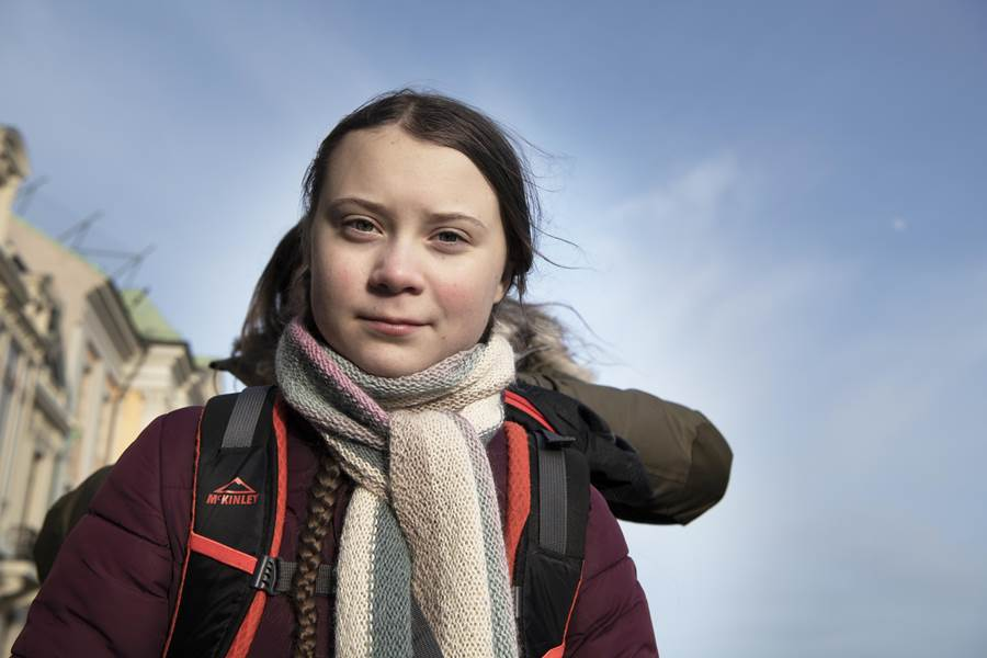 Greta Thunberg helps kicks off youth climate summit at the UN