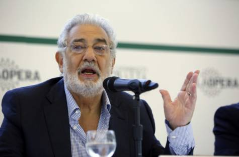 Report: Placido Domingo pulls out on eve of New York Met opening