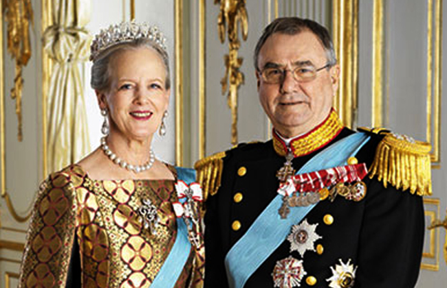 Danish queen has no plans to step down in favour of crown prince