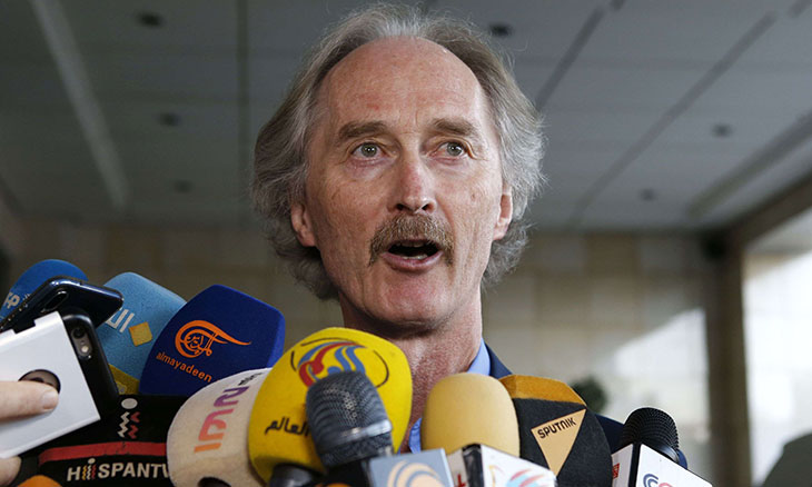 UN special envoy calls Syrian constitution committee a 'sign of hope'