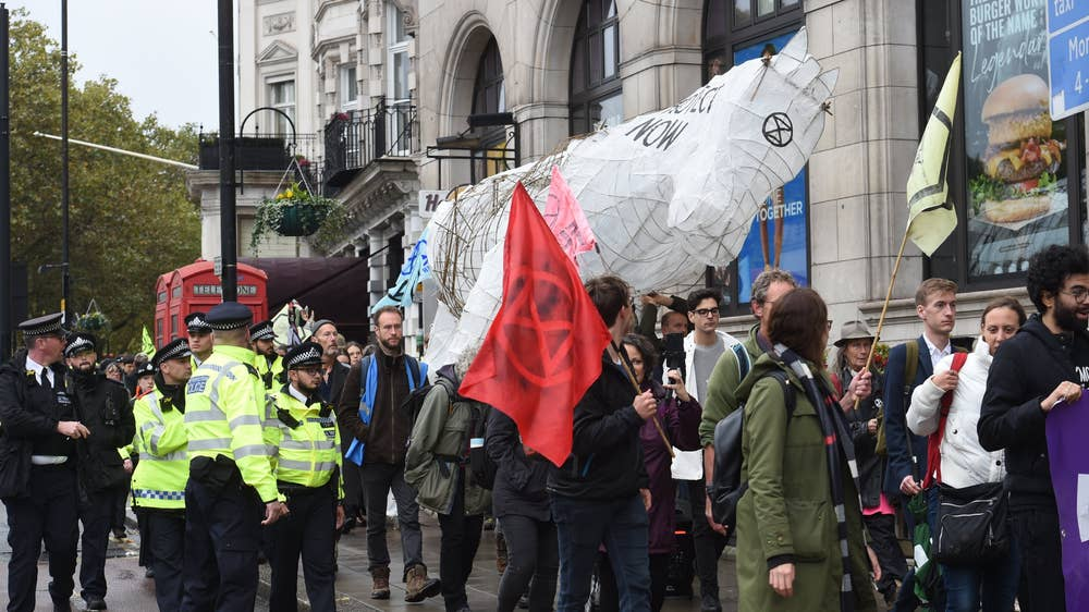 Former paralympic athlete in court over Extinction Rebellion protest