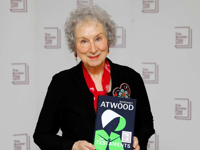 Atwood's 'Handmaid's Tale' sequel favourite for Booker Prize