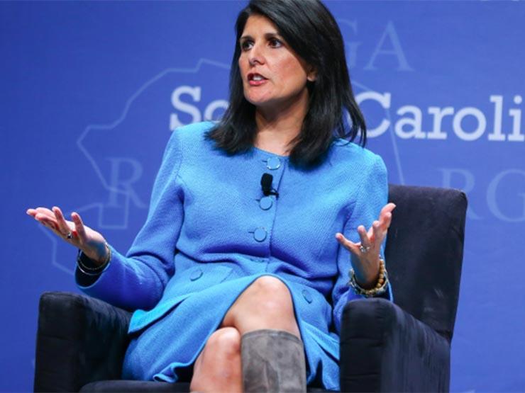 Nikki Haley says White House staff asked her to undermine Trump