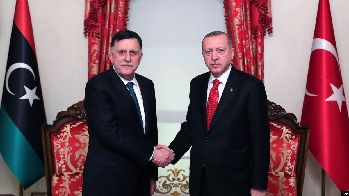 Erdogan: Turkey to send troops to Libya upon Tripoli's request