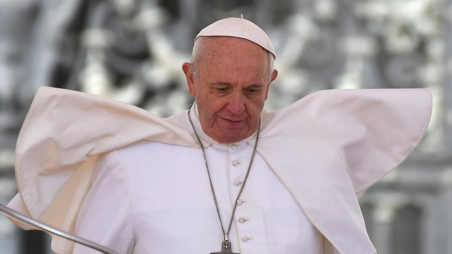 Pope: Violence against women is 'a blasphemy against God'