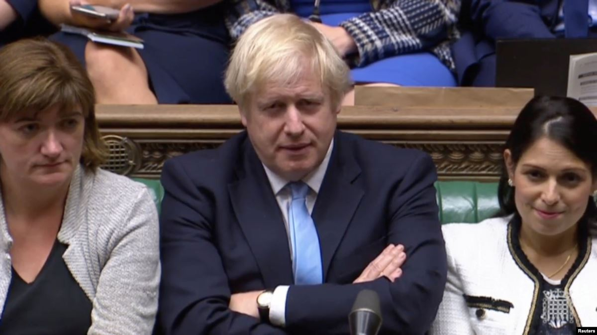 Johnson aims to push key Brexit bill through British parliament