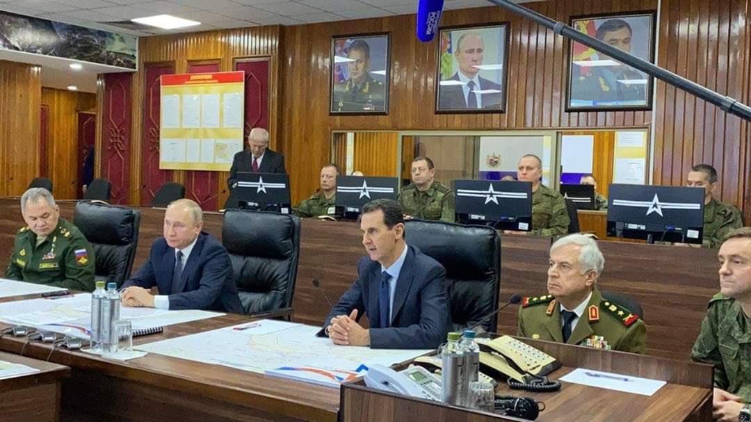 Putin makes surprise trip to Damascus to visit al-Assad