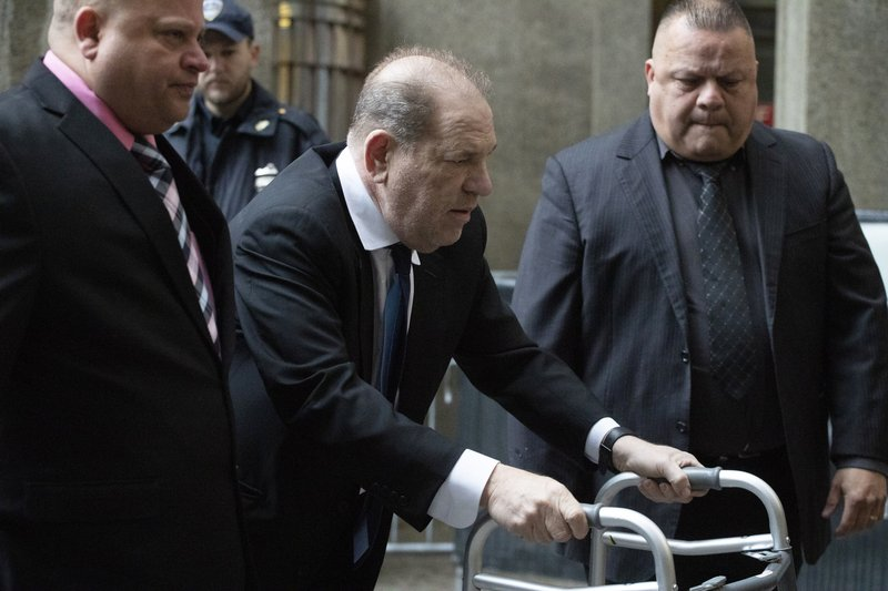 Harvey Weinstein faces new sex crime charges in LA as NY trial begins