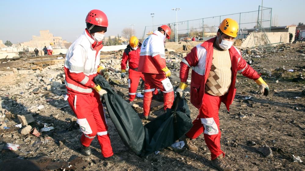 No survivors after Ukrainian jet crashes near Tehran after take-off