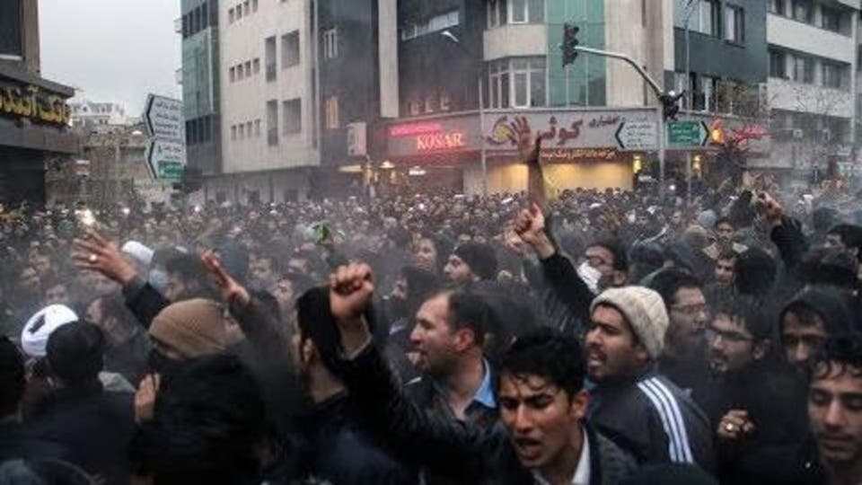 Protests in Tehran, Trump says 'world is watching'