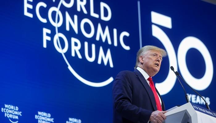 Frankfurter Allgemeine on Trump's speech in Davos