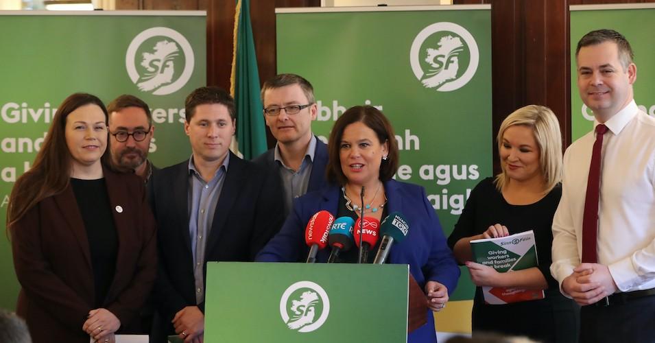 Ireland's left-wing Sinn Fein seeking to form coalition after poll
