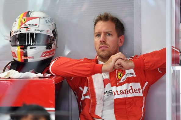 Another setback for Ferrari's Vettel in Barcelona tests