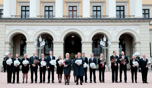 Norway completes cabinet reshuffle after Liberal leader resigns