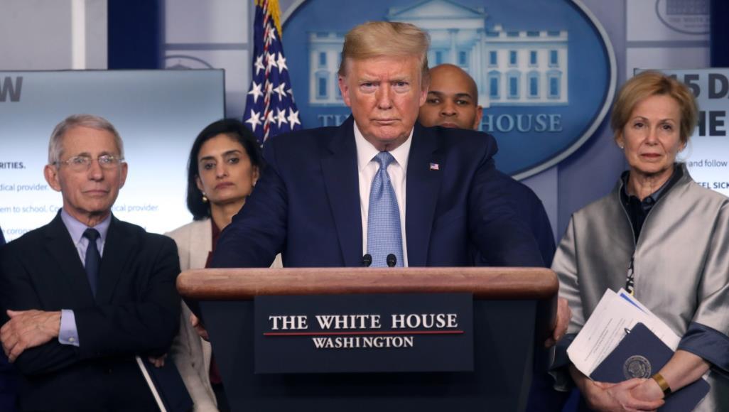 Trump touts 'tremendous response' to coronavirus amid rising toll