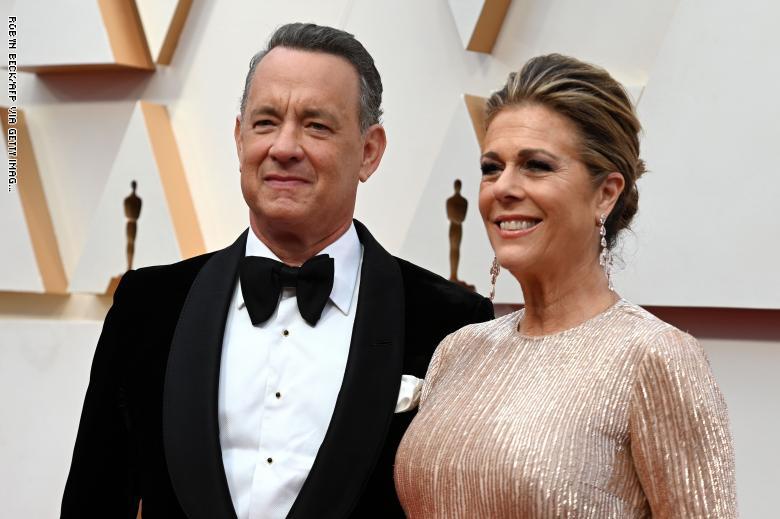 Tom Hanks says he and Rita Wilson 'feel better.'