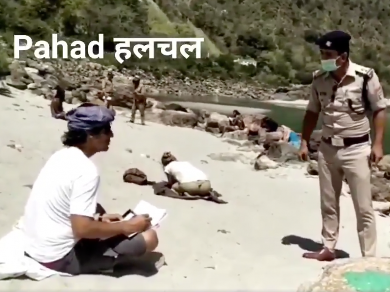 India cops make tourists write sorry 500 times for lockdown violation