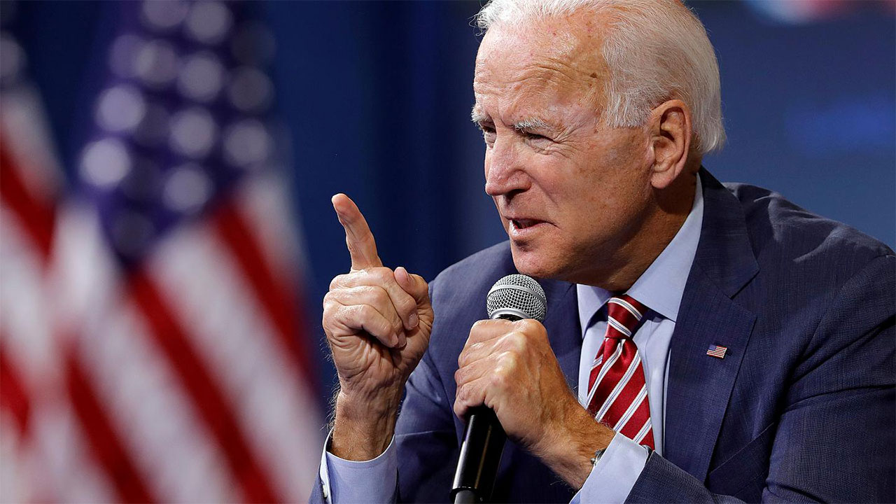 Joe Biden demands justice in 'jogging while black' killing in Georgia