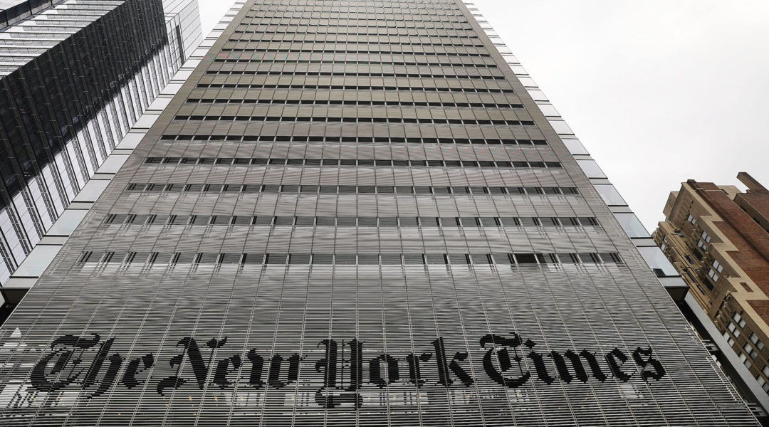 NY Times writers condemn decision to run op-ed on mobilizing military