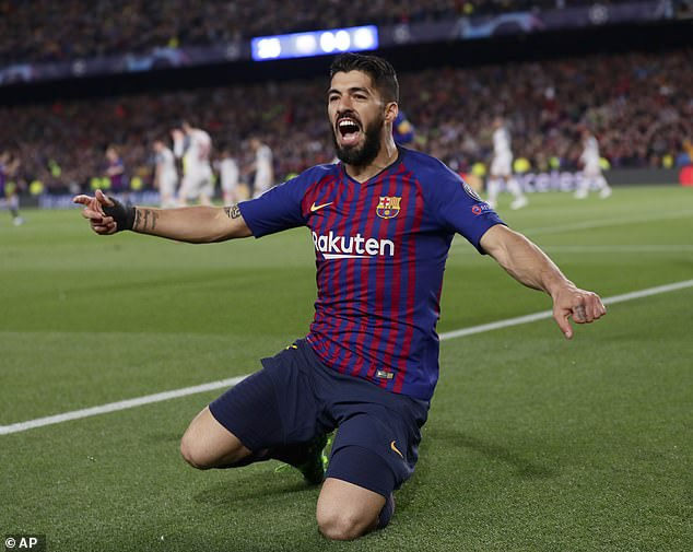 uarez return boosts Barcelona's delayed title bid