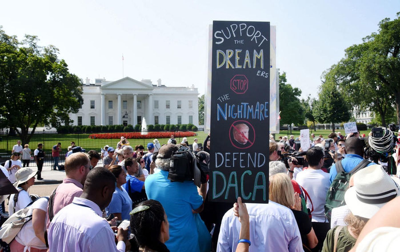 The Supreme Court rejected Trump's attempt to end DACA.
