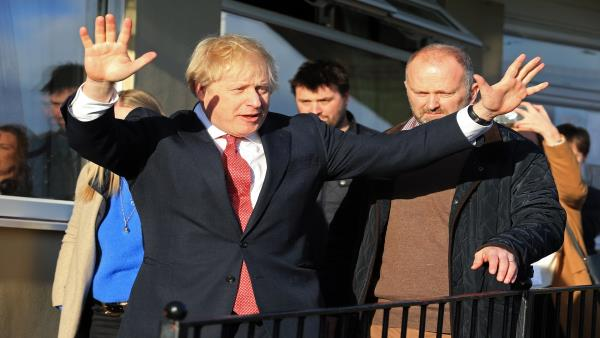 Johnson plans infrastructure drive to boost British economy